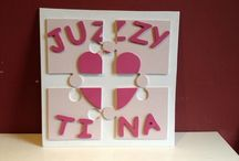 Personalised Gifts / Handmade Personalised Wooden decorations