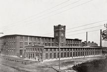 History of The Cotton Factory / Information and images on the historic Imperial Cotton Company Ltd. and the building it occupied in Hamilton, Ontario.
