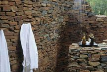 Bathrooms-outdoor showers / by Amy Schenkenberger
