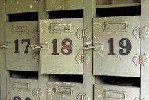 old lockers / by Jaime Roberts