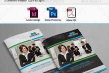 Colourful Corporate Brochure