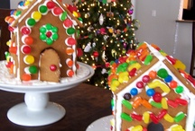 Christmas-Gingerbread House / by Carol Fox Carrillo