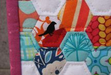 Hexie quilts