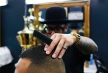Barber Chad Gabriel / This is a collection of photos of barber Chad Gabriel of Cut To Contrast Barbershop in San Francisco.  #barber #barbers #barberlife