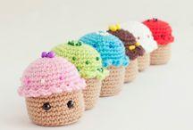 mini crochet / breloczki, zawieszki, miniaturki do 10cm