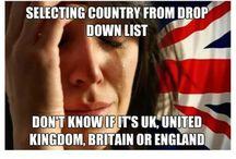 British Problems/Humour