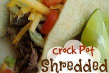 crockpot entrees - beef/roasts/ribs