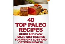 Paleo Cookbooks / I love to be healthy, and I believe in healthy eating and exercise. / by Zhanna Denisyuk