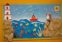 lato - dekoracja sali