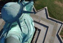 Ellis island/ Statue of Liberty / by Heather Peacock