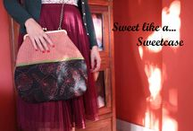 ''Chocolat''collection a/w 2013 / A dark and romantic side of chocolat in a bag!!! Sweetcase new collection inspired from 50s,and the romantic movie ''Chocolat''. Handmade bags with a girly and retro style!