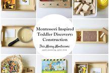 Montessori Reggio inspired activities for children