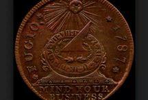 Coins and paper money / by Jacqueline Alssema Hartmann