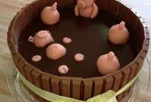 Witzige Torten und Kuchen