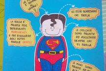 cartellone x supereroe