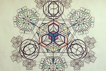 Sacred geometry / Beautiful geometric shapes