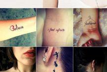 Tatoo placements