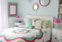 girls bedroom redo