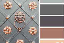 barvy tonování / sestava barev na látky