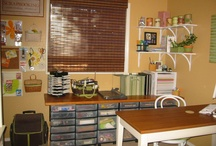 Craft Room / My craft room can never be complete, when there are so many cool ideas that I've never considered before / by Camile Mick