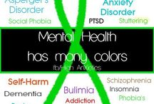 Mental illnesses / by Kimberly Ross