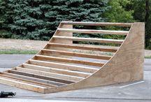 Skatepark ramps