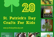 St. Patrick's Day / by Vivienne Wagner {The V Spot Blog}