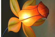 Papir lámpák