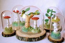 champignons / by Petitrésors Anne