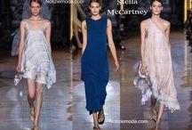 Stella McCartney / Stella McCartney collezione e catalogo primavera estate e autunno inverno abiti abbigliamento accessori scarpe borse sfilata donna.