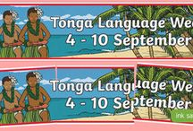 Tonga Language Week / A selection of activities you can complete with your class for Tonga Language Week