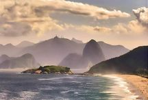 Brazil's Best Beaches / With hundreds of miles of glorious coastline, great surf and scorching sunshine, Brazil is officially one of our favorite tropical beach destinations. In no particular order let us guide you through our top best beaches of Brazil:  / by Oasis Collections