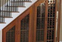 Wineries at Home - Bodegas en Casa / Espacios dedicados al vino. Muebles para el vino. Vinotecas en casa.