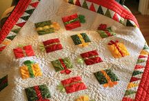 Christmas Quilting / by Sherry Anderson