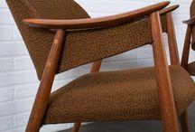 Modern skandináv bútorok a múlt század közepéről / Modern skandináv bútor, antik bútor