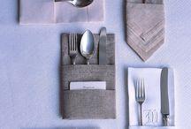 Ebédlő asztal díszítés