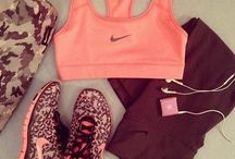 Fitness Fashion / Workout gear, running clothes, shoes and accessories I love.