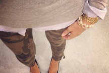 Fashion things - camo pants