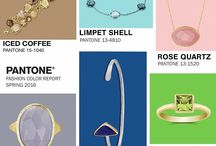 PANTONE Spring 2016 / Colors this season transcend cultural and gender norms. Vivid brights give way to excitement and optimism, though quiet stability prevails in this season's palette. / by Borsheims Fine Jewelry and Gifts