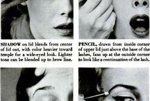 1950's Makeup / Mainly Makeup course use