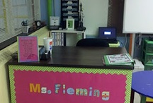 classroom decoration / by Leah Woolfall