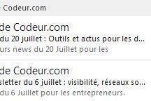 Inspis du WEB l Objets emails