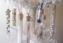 Christmas Test Tube Inspiration / Christmas test tube ideas