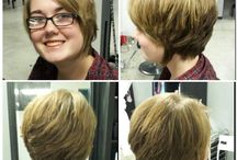 Hair I've done <3 / Clients/friends that I've done haircolor, cuts, highlights, lowlights, ombres, bayalage on. / by Brooke Chadwick