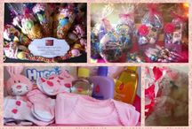 Heart Hampers and Gifts display