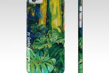 Artistic Phone Cases / Some of Maite Rodriguez´s most popular paintings are now available to buy for your Iphone. Liven up dull cases with unique and original art whilst protecting them!