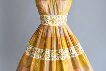 Vestidos de época de 1950