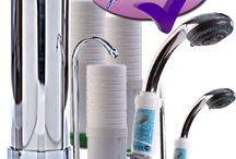 Vízszűrő termékeink / Megfizethető és egyszerű vízszűrők, amiket a konyhádba és a fürdőszobádban tudsz felszerelni. Nincs több ásványvíz vásárlás, csak tiszta víz otthon.