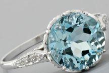 Antique Aquamarine Ring