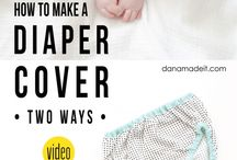 Baby diy clothes and accessories